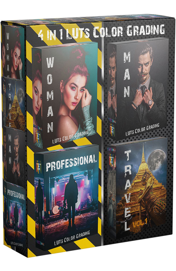 4in1 LUTs Pack LUT Video Color Grading Color Correction LUTs Cinematic LUTs Free LUT